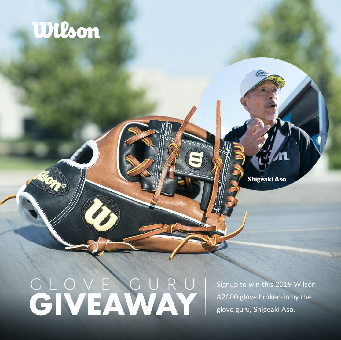 2019 Wilson A2000 Baseball Glove Contest